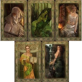 ведьмак карты девушек