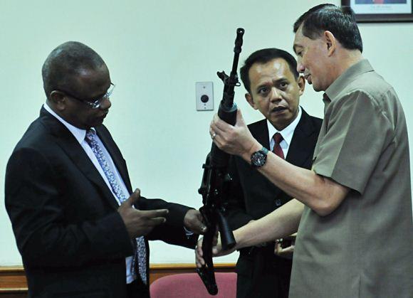 Wamenhan dan Dirjen NISS Sudan