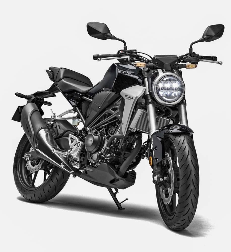 Honda rilis versi naked dari CBR1000RR dan CBR300R di EICMA 2017, tak ketinggalan ada CB125R 2018 juga
