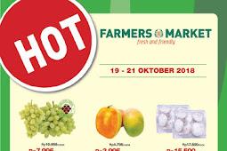 Katalog Promo Farmers Market Weekend Terbaru 19 - 21 Oktober 2018
