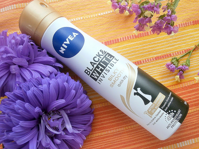 NIVEA Black & White Invisible Silky Smooth - nowy antyperspirant