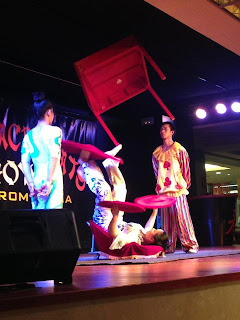CIRCUS SHOW AT A HOTEL IN PINEDA DE MAR