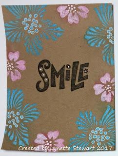 card front by Lynette Stewart 2017