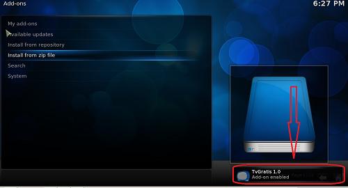 شاهد أفضل القنوات العربية والأجنبية على برنامج KODI مع إضافة TvGratis