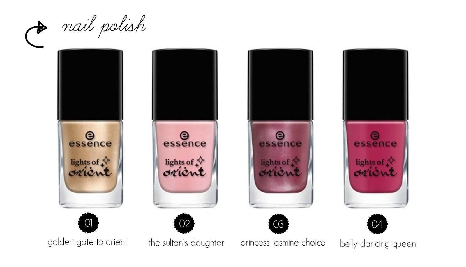 essence lights of orient nail polish