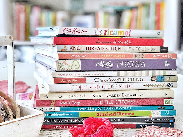 Ricamo- la mia collezione di libri