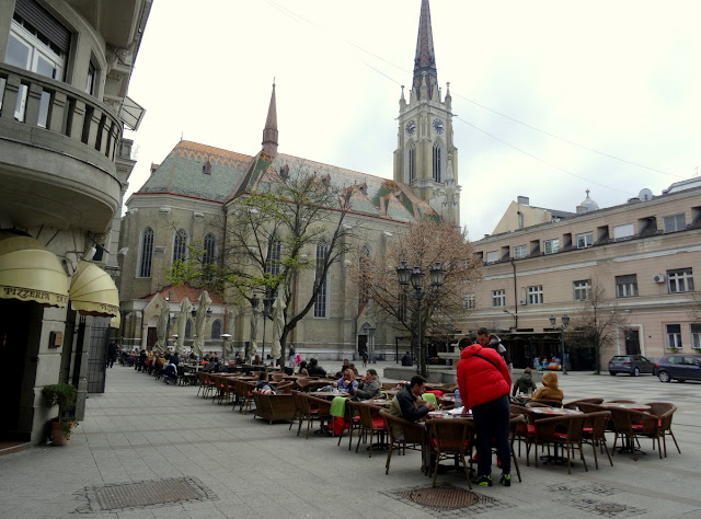 Outdoor Terrace - Novi Sad
