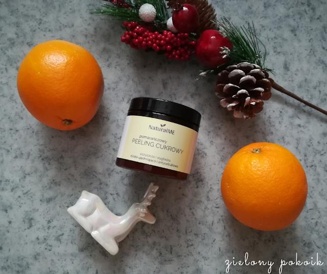 Kosmetycznie: NaturalME - Peeling cukrowy pomarańczowy