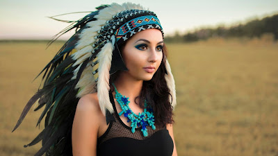 Beautiful Native American Girl Picture
