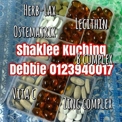 Vitamin Shaklee Pilihan Saya -  Lecithin, Zinc Complex, Vita C Plus, Ostematrix, Herb-Lax, B-Complex