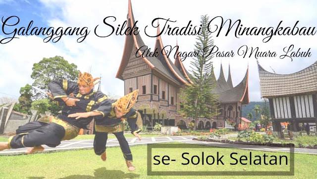 festival silek tradisi minangkabau