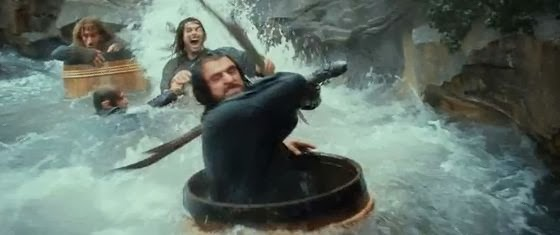 The Hobbit River Escape