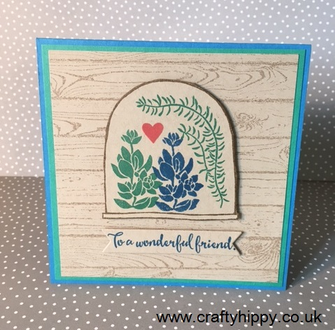 Live, Love, Grow card, Stampin' Up!
