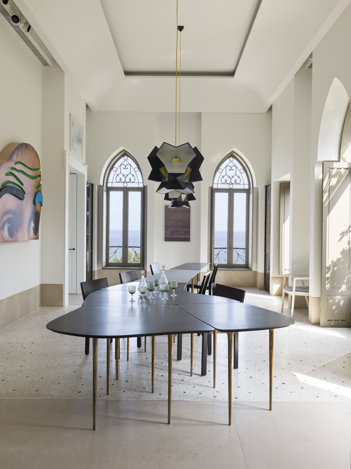 A House In Beirut This Is Traditional Of The Eighteenth Century That Collector Karim Abillama Asked His Brother To Rehabilitate