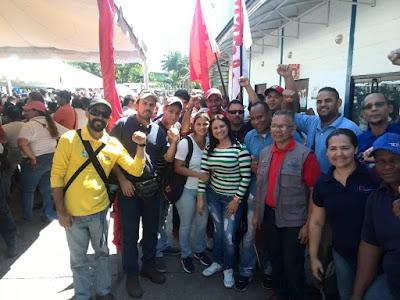 En Aragua: La Clase Obrera dice NO  AL INTERVENCIONISMO YANKEE en Cacique Maracay