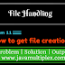 How to get file creation date of given file in Java?