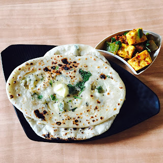 Kadai-Paneer-Recipe-With-Kulcha