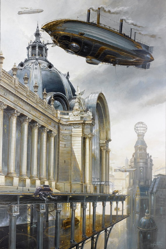 09-Petit-Palais-Didier-Graffet-Visions-of-the-future-in-Steampunk-Digital-and-Traditional-Art-www-designstack-co