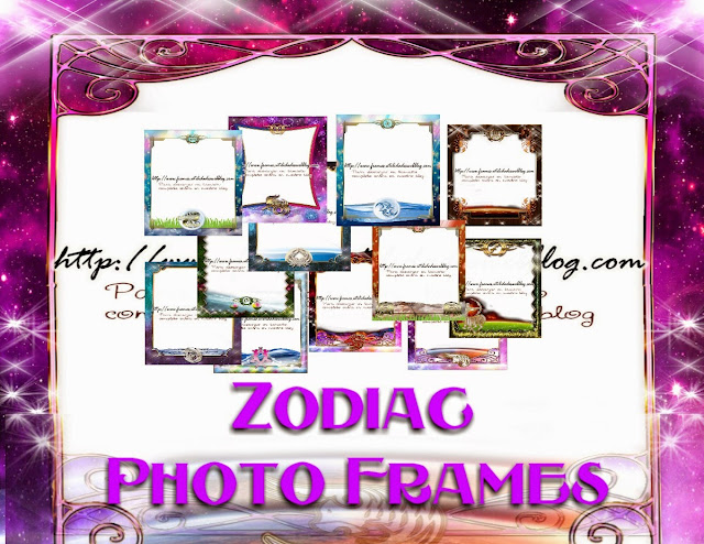 PNG frames - Zodiac signs