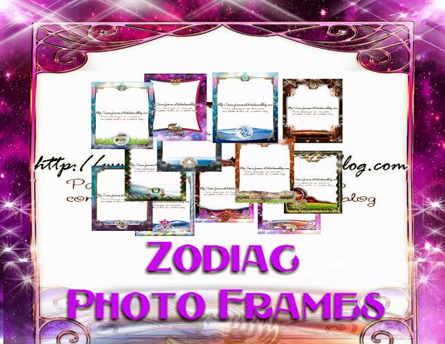 Marcos para embellecer fotos con los signos Zodiacales