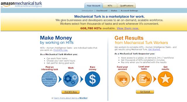 Amazon-Mechanical-Turk