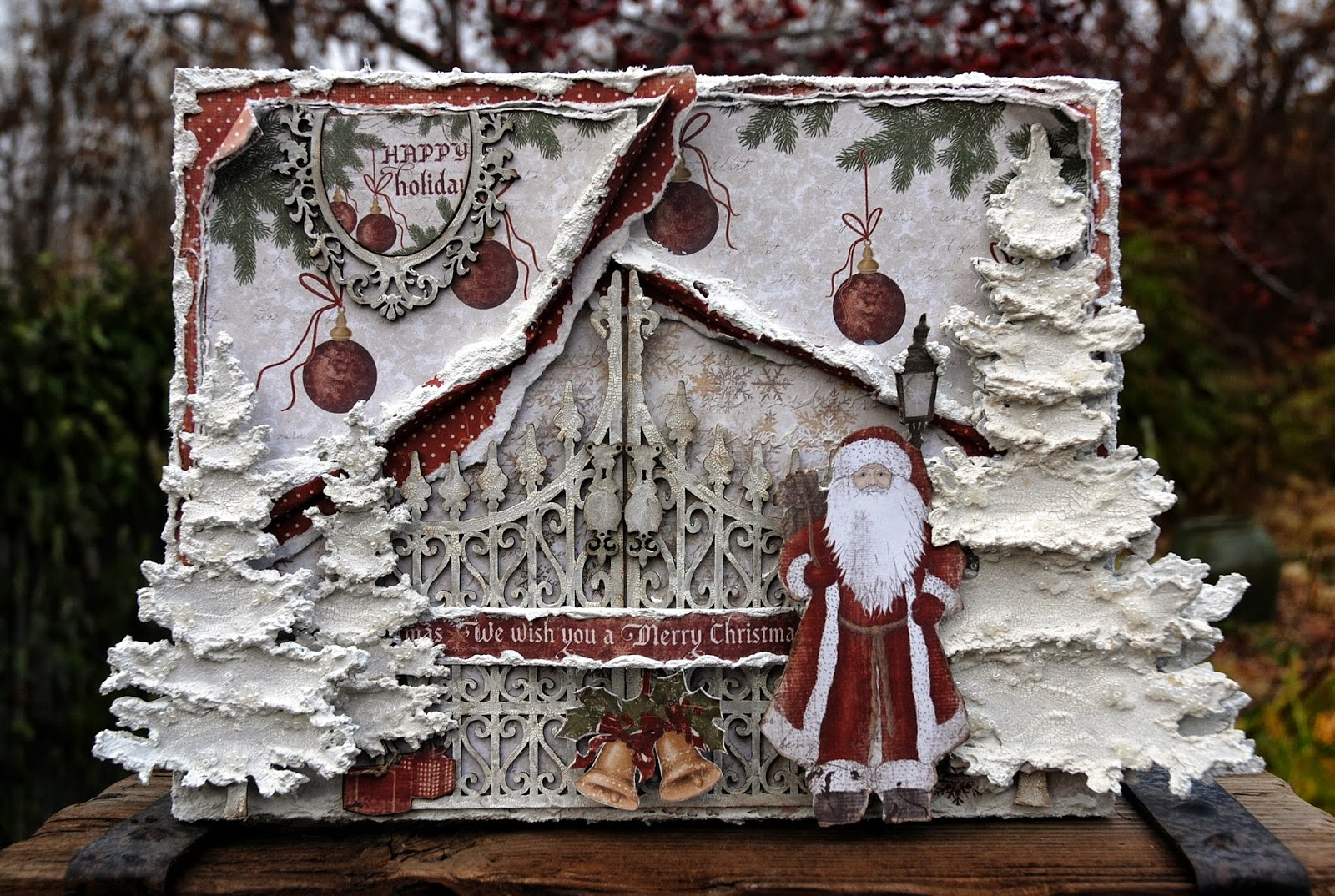 Christmas Board Design.Life S Little Embellishments We Wish You A Merry Christmas