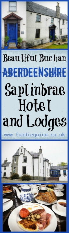 www.foodiequine.co.uk Dinner, Bed and Breakfast at Saplinbrae Hotel and Lodges, Mintlaw. A Scottish country house hotel located in Aberdeenshire's Buchan heartland. Relaxed all day everyday dining  with contemporary takes on traditional foods and a passion for provenance and local sourcing.