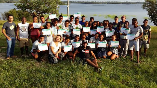 Jovens de Comunidades Quilombolas de Oriximiná participam de oficina do YouTube