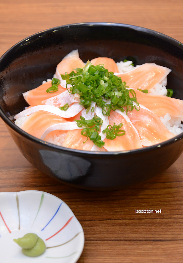 Atlantic Salmon Sushi Bowl @ Sukiya, Damansara Utama