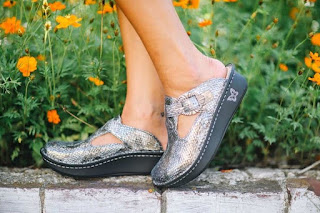 Alegria Shoes Classic Posh Pewter