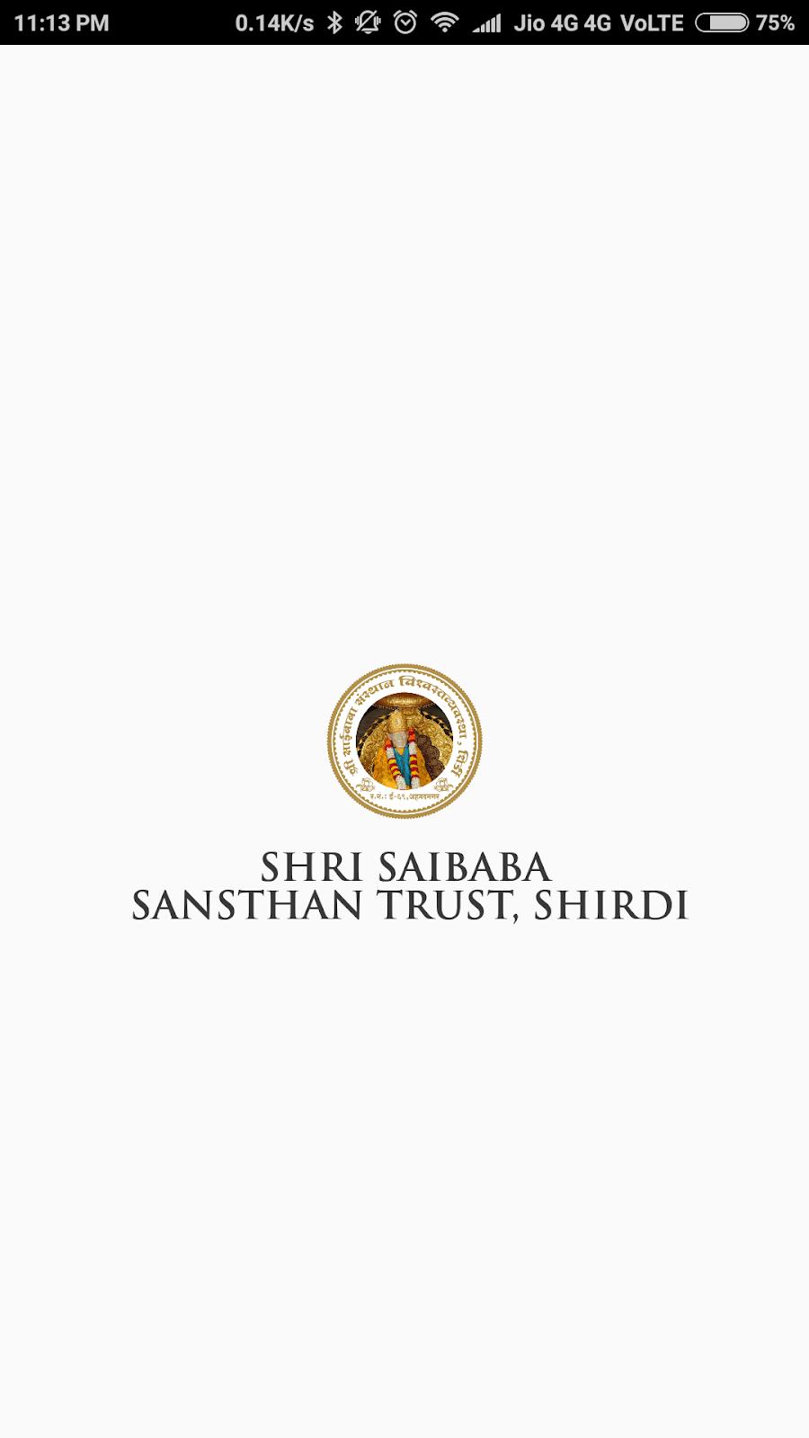 Good News - Shri Saibaba Sansthan Launches Mobile App