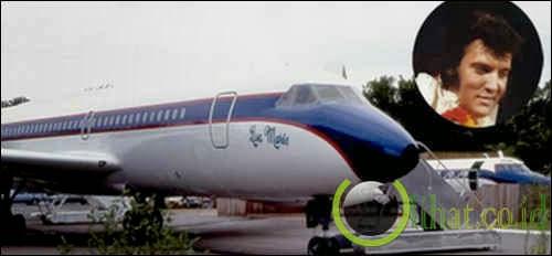 Pesawat Convair 880 - Elvis Presley