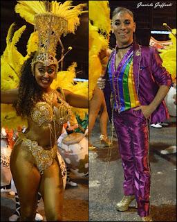 Desfile Inaugural del Carnaval. Uruguay. 2017. Comparsa C1080