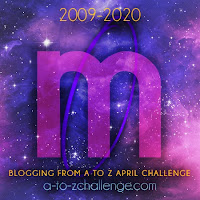 #AtoZChallenge 2020 Blogging from A to Z Challenge letter M