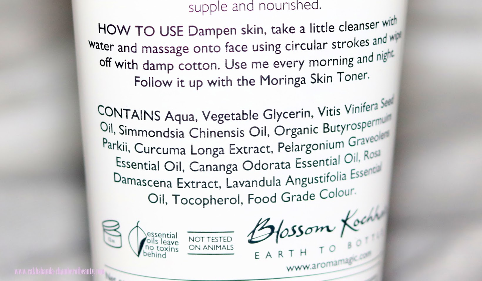 Aroma Magic Turmeric Cleanser-Review, Price, Indian beauty blogger, Chamber of Beauty