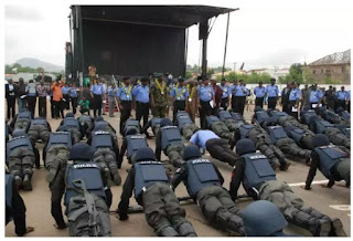 Nigeria police promote 28,627 junior officers