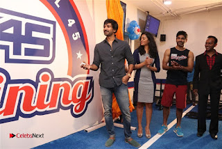 Aadhi And athrie Inaugurated F45 Fitness Studio Stills | ~ Bollywood and South Indian Cinema Actress Exclusive Picture Galleries
