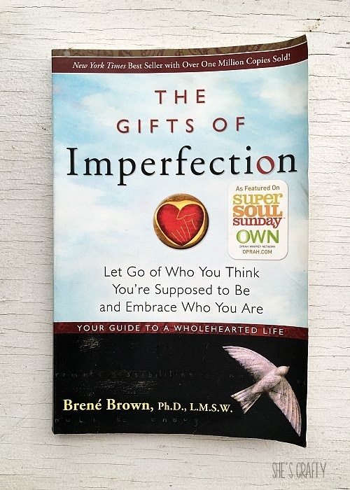 Favorite Self Help Books for Living Your Best Life - Gifts of Imperfection