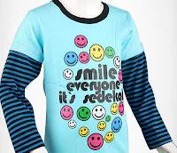 Alfamind Kaos Anak Islami Smile Everyone Sedekah Shibakids - Putera ANDHIMIND