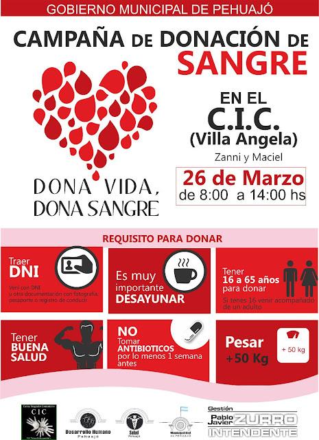 Se acerca una nueva campaña de donación de sangre
