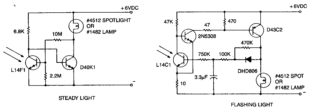 Warning Light and Marker Light Circuit Diagram   Circuits