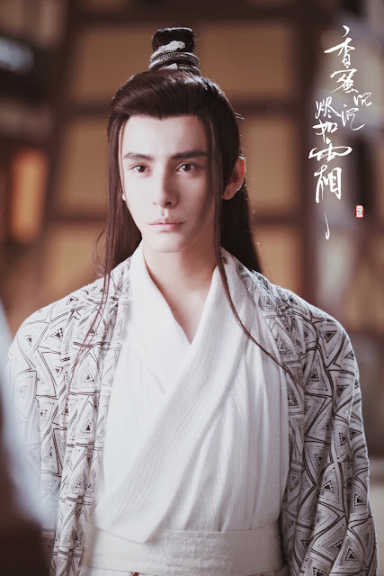 Ashes of Love Daniel Liao Jinfeng as Pu Chi Jun (Snake Immortal)