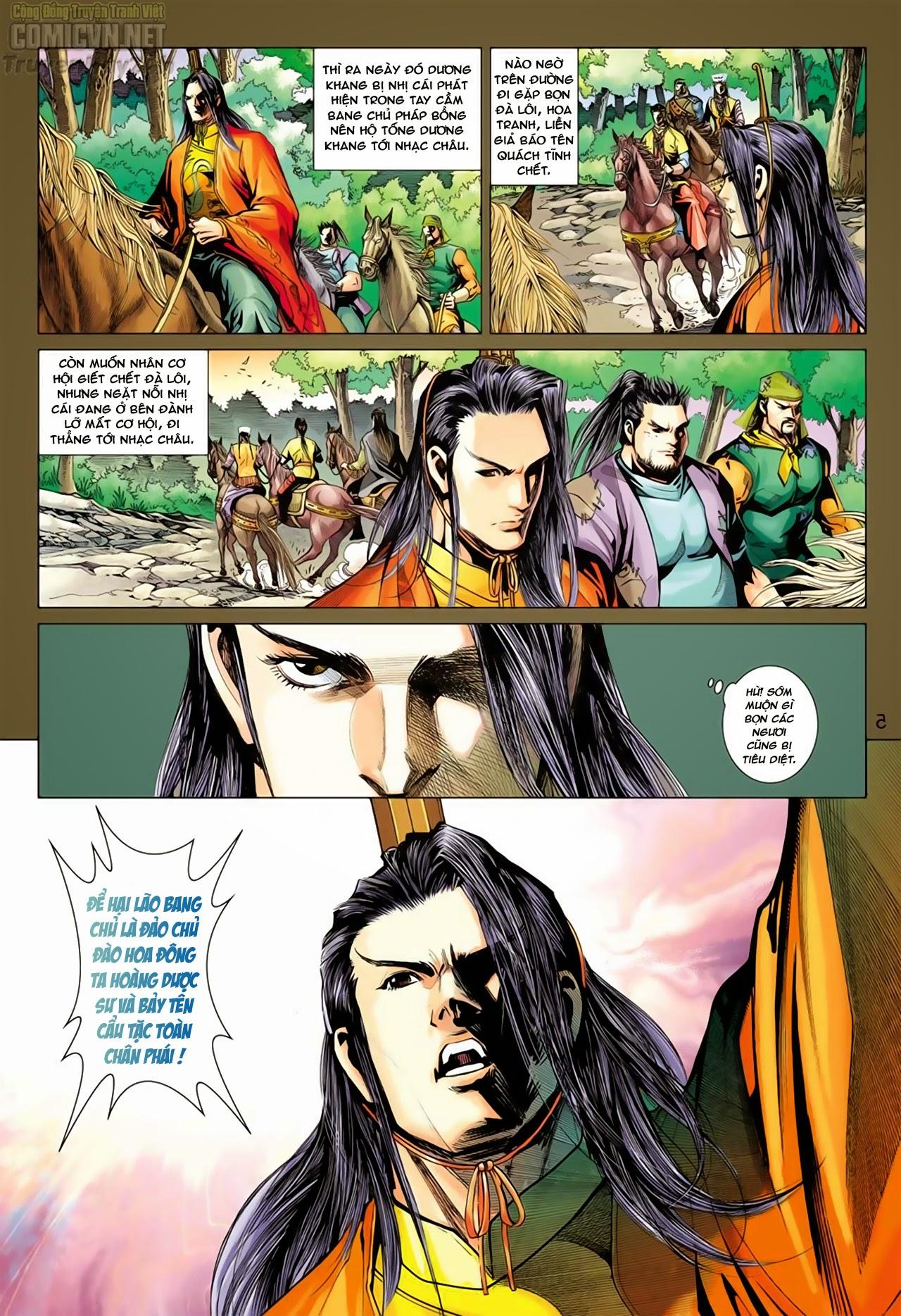 Anh Hùng Xạ Điêu anh hùng xạ đêu chap 66: nhạc châu đại hội trang 6