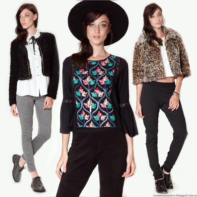 MODA 2016: Asterisco abrigos, blusas, pantalones, vestidos otoño invierno 2016. Moda otoño invierno 2016.