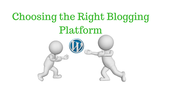 A guide on choosing a blogging platform