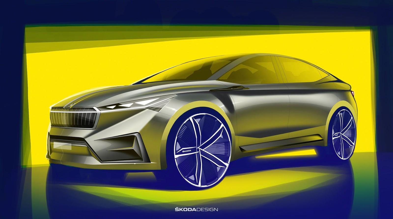 El Salón de Ginebra descubrirá el Skoda Vision IV Concept Studio