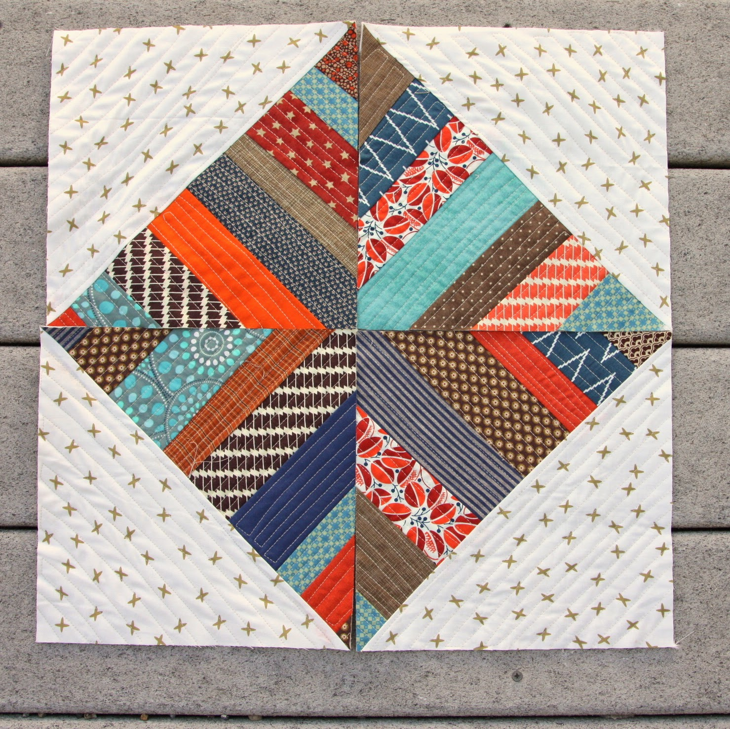 Modern Quilt-as-you-Go pattern book - Diary of a Quilter - a quilt ... : quilt as you go baby quilt - Adamdwight.com