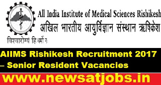 AIIMS-Rishikesh-Recruitment–23-Senior-Resident-Vacancies