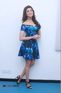 Actress Praneetha Latest Stills in Floral Short Dress at Enakku Vaaitha Adimaigal Press Meet  0013.jpg
