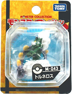 Tornadus figure Takara Tomy Monster Collection M series